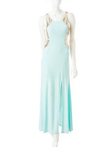 My Michelle Green Evening & Formal Sheath Dresses