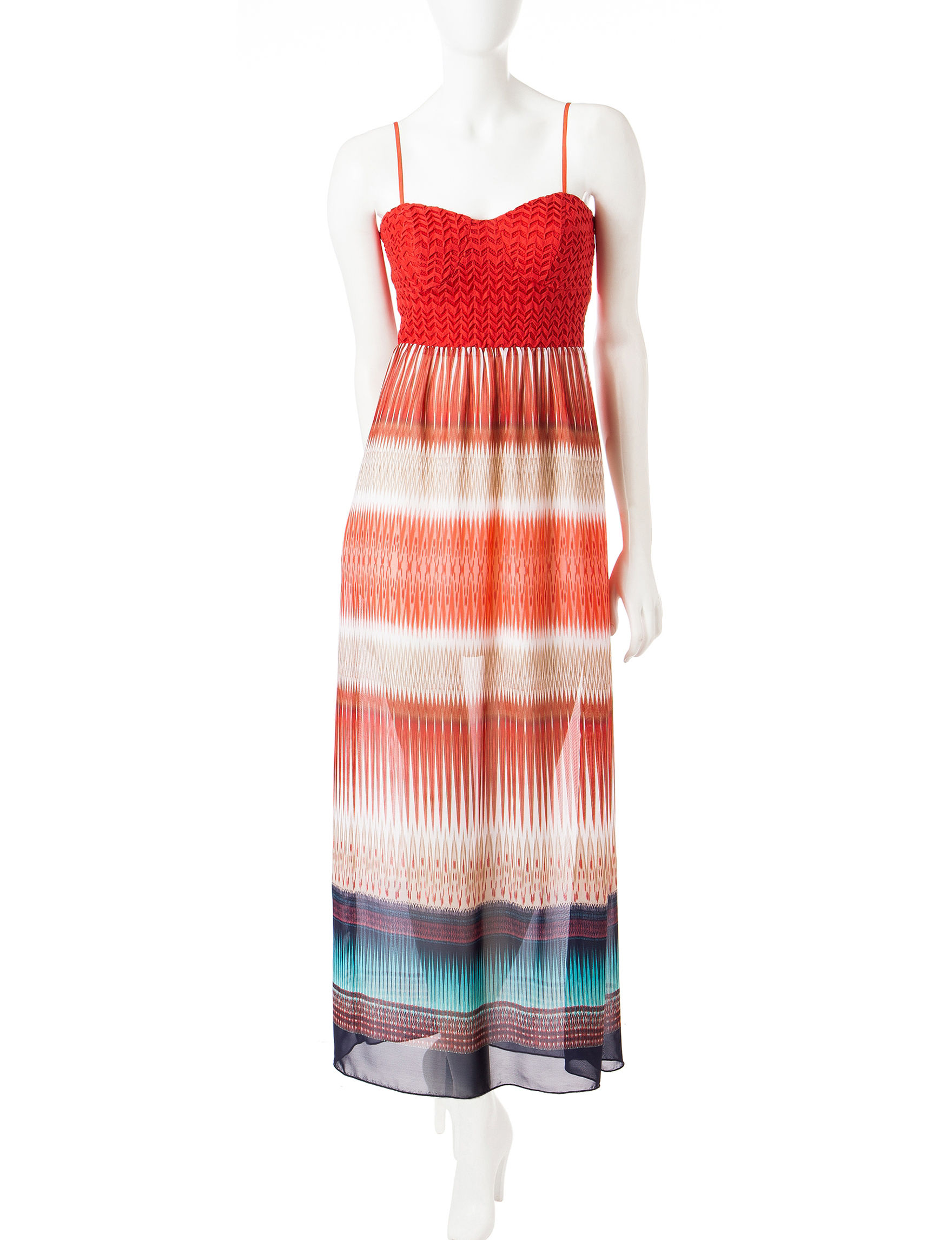 Trixxi Coral Everyday & Casual Sundresses