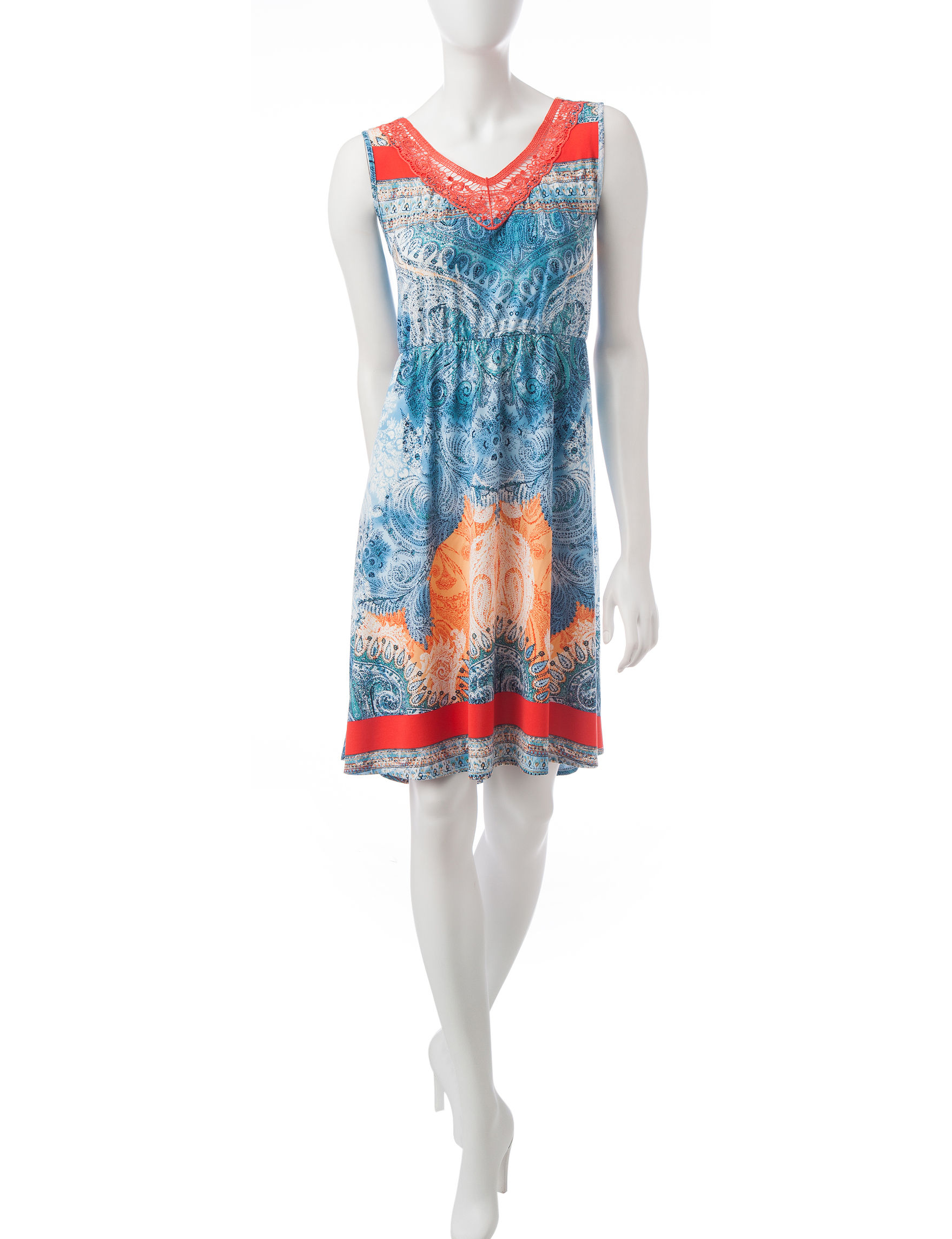 One World Blue Sundresses