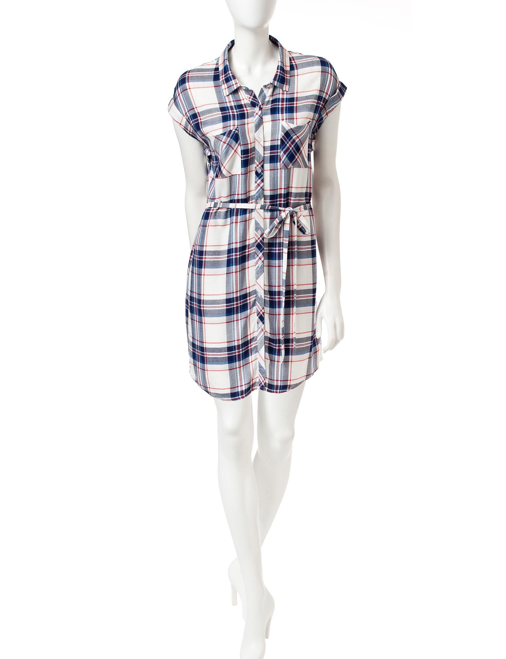 Heart Soul 100-White Shift Dresses