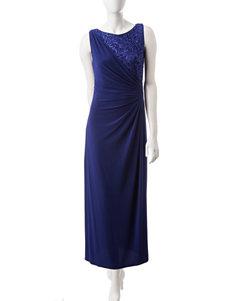R & M Richards Sequin Gown