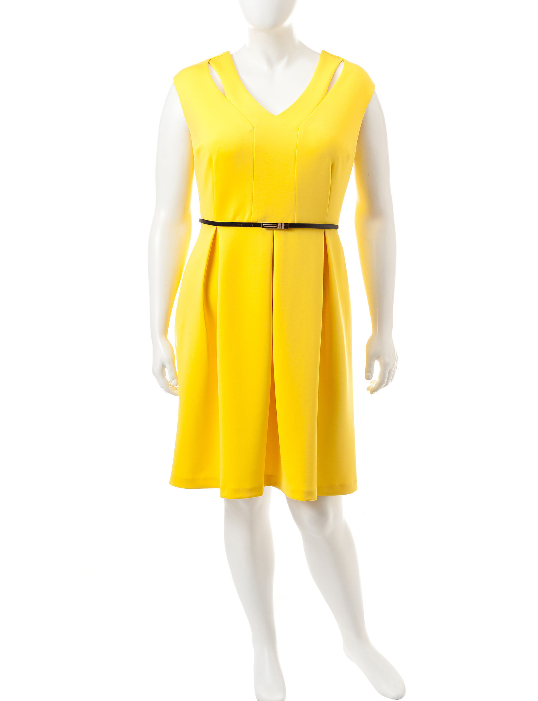 Studio 1 Yellow Everyday & Casual A-line Dresses