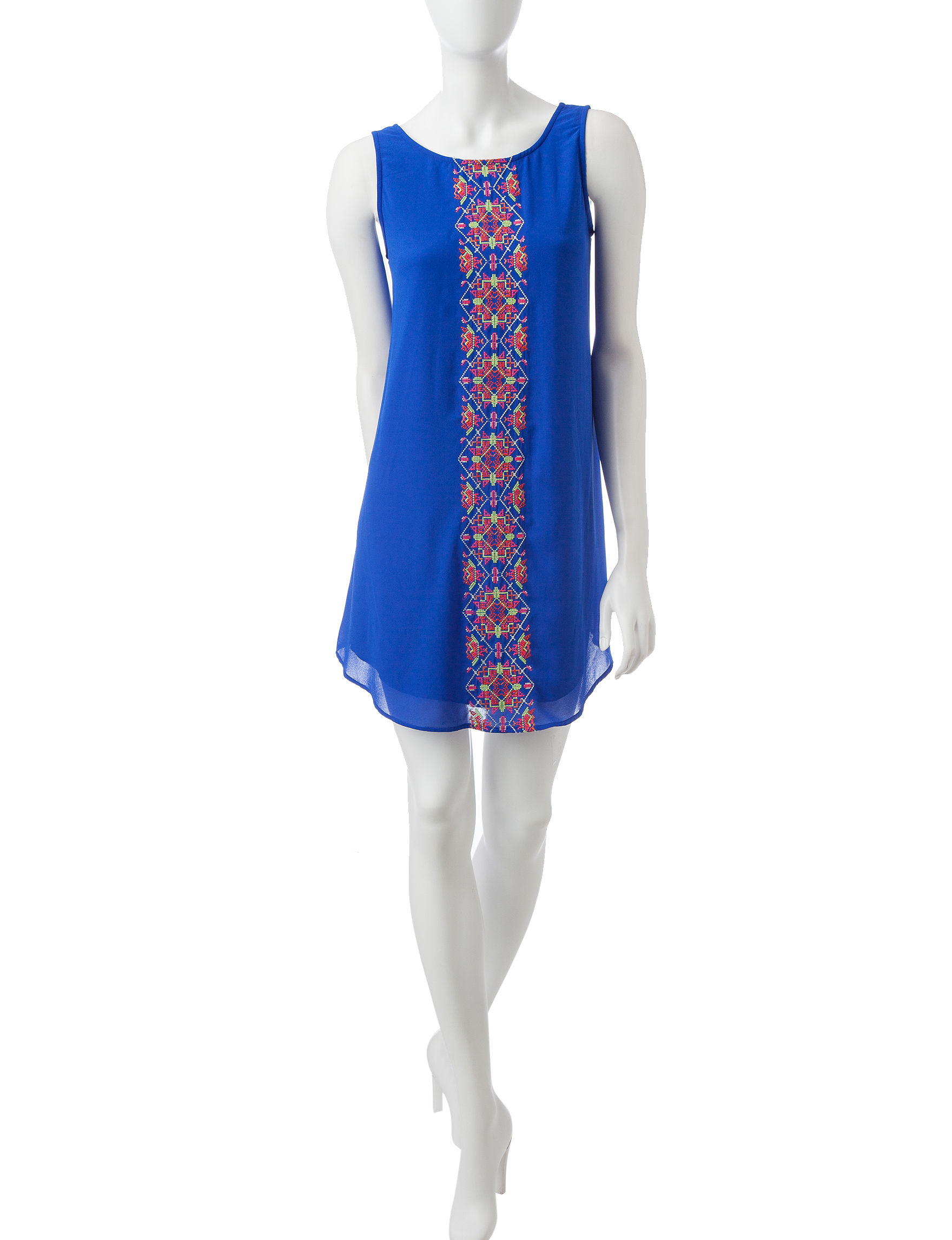 My Michelle Blue Everyday & Casual Shift Dresses