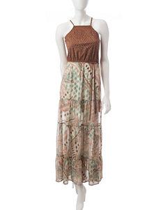 Heart Soul Faux Suede Maxi Dress
