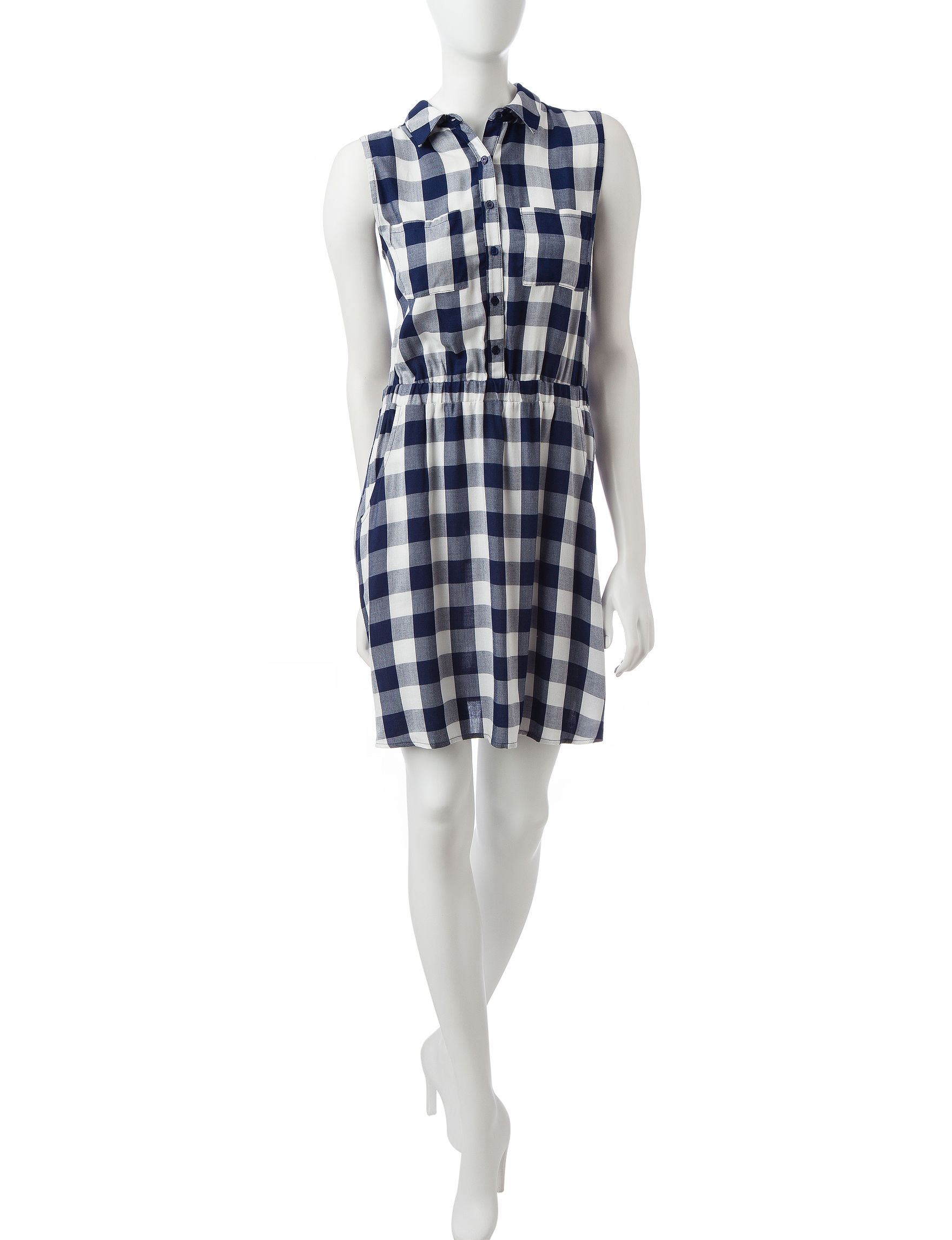 Fire Navy Everyday & Casual Shift Dresses