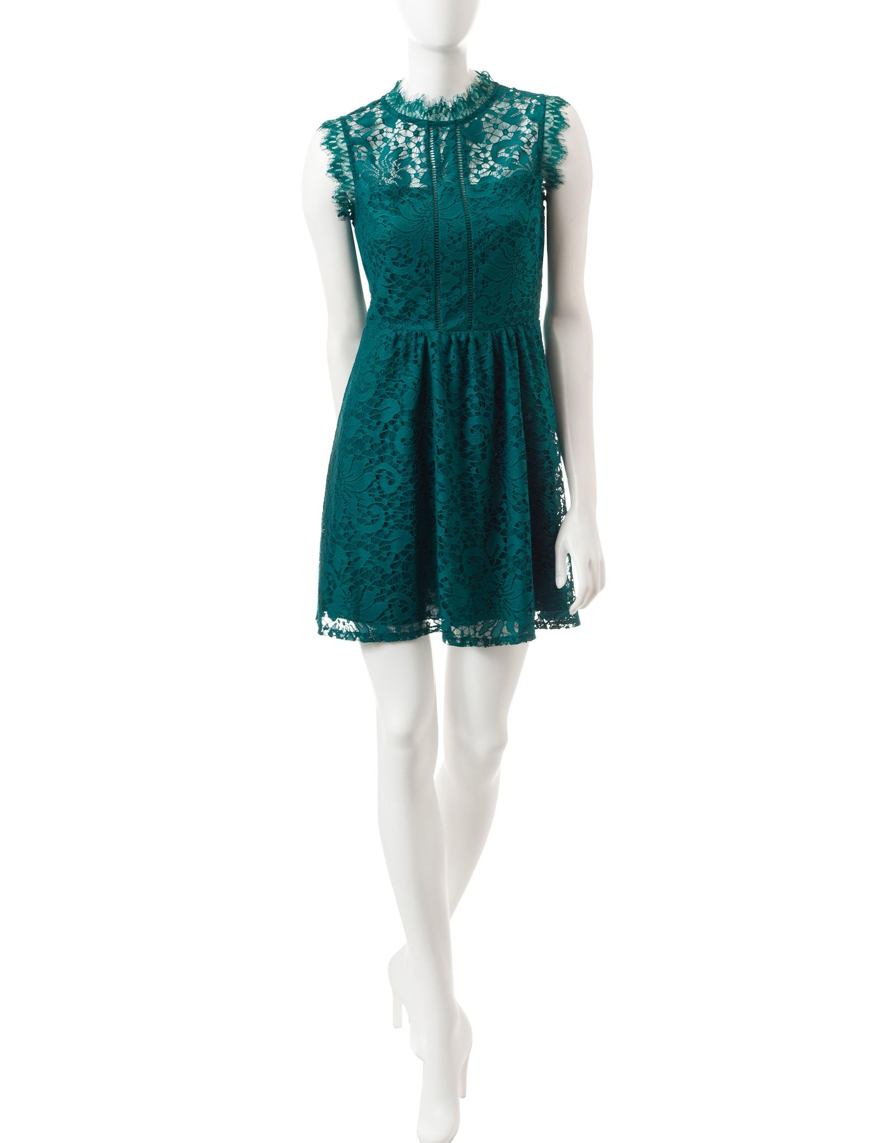 Speechless Jade Shift Dresses