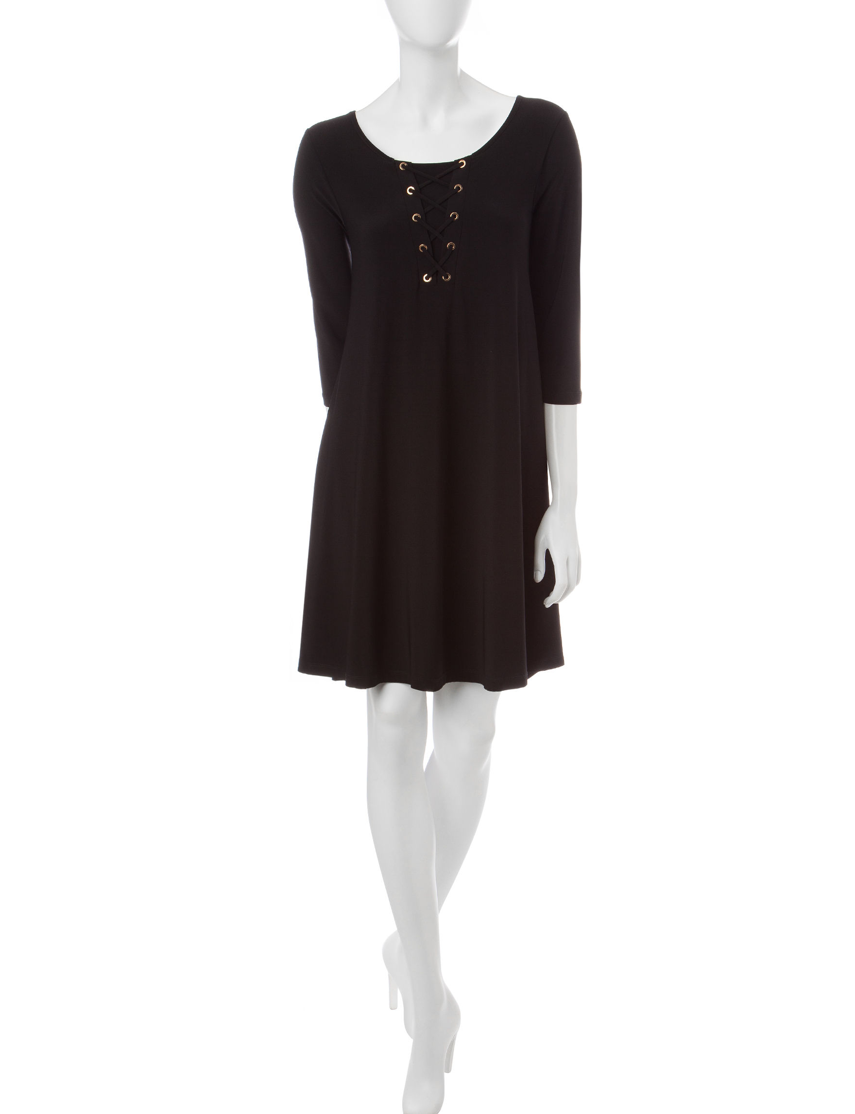 Lennie Black Shift Dresses