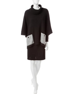 Lennie Black Everyday & Casual Sweater Dresses