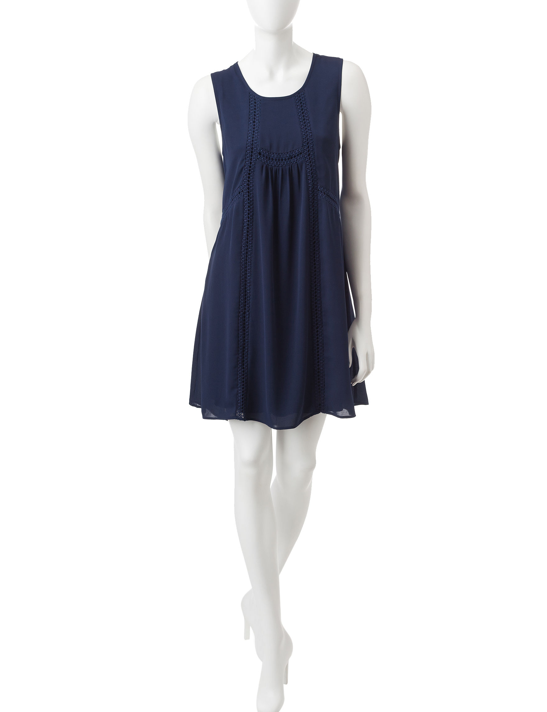 Signature Studio Indigo Everyday & Casual Shift Dresses
