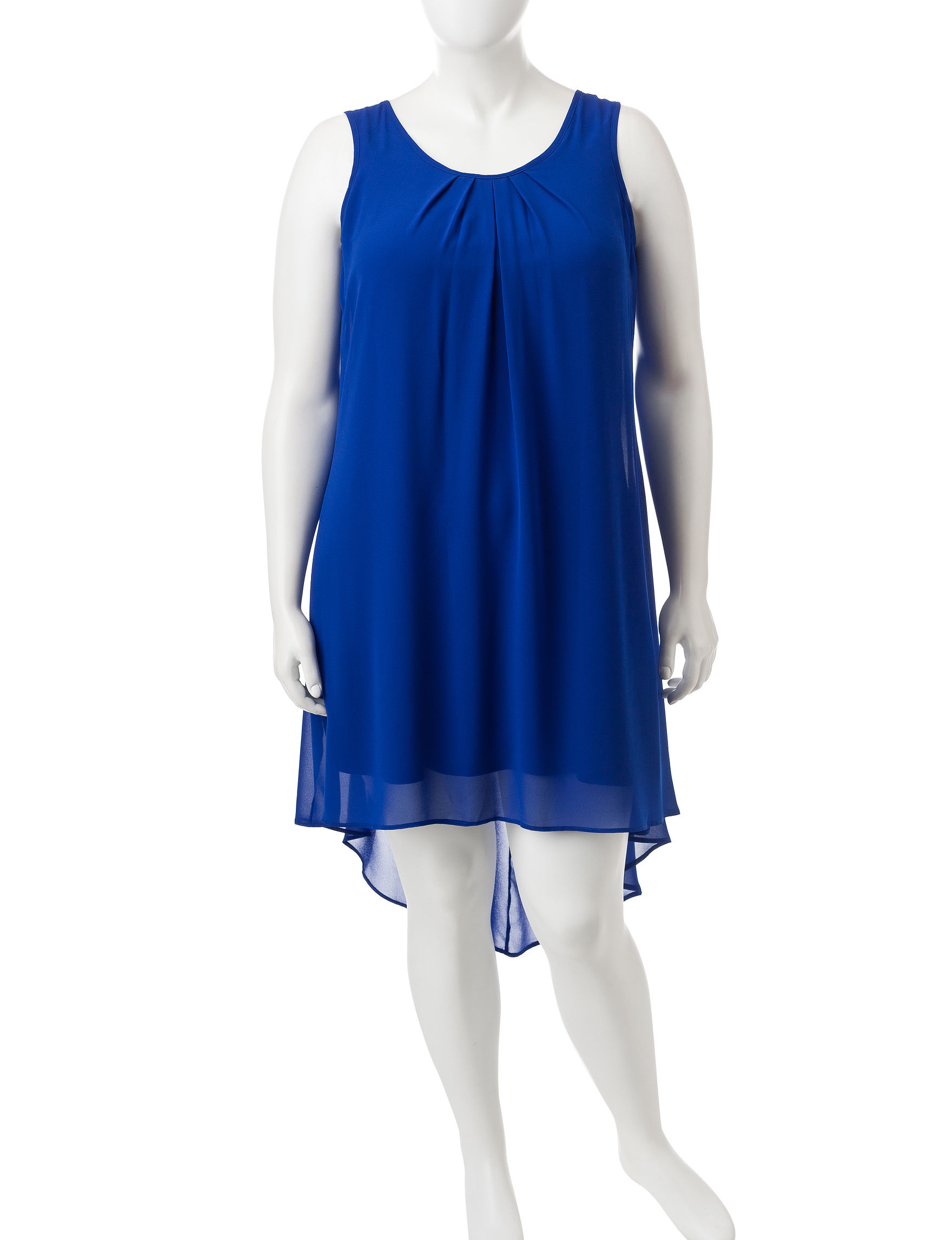 My Michelle Blue Shift Dresses