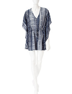 Bailey Blue Tribal Print Romper