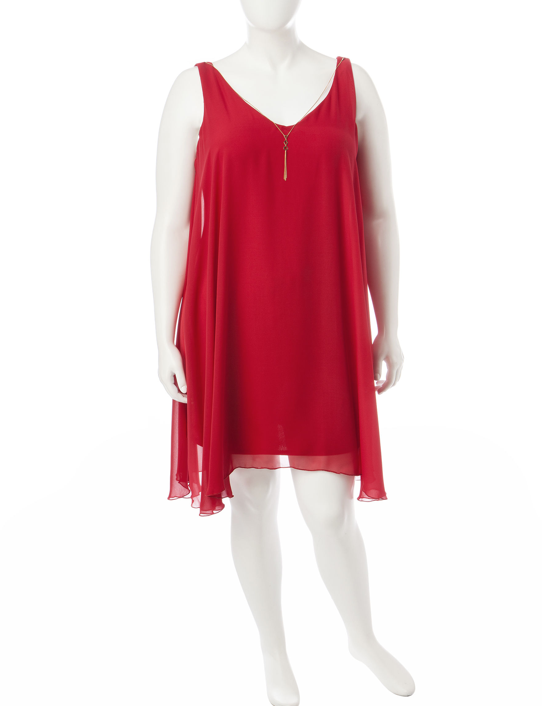 Bailey Blue Cherry Shift Dresses
