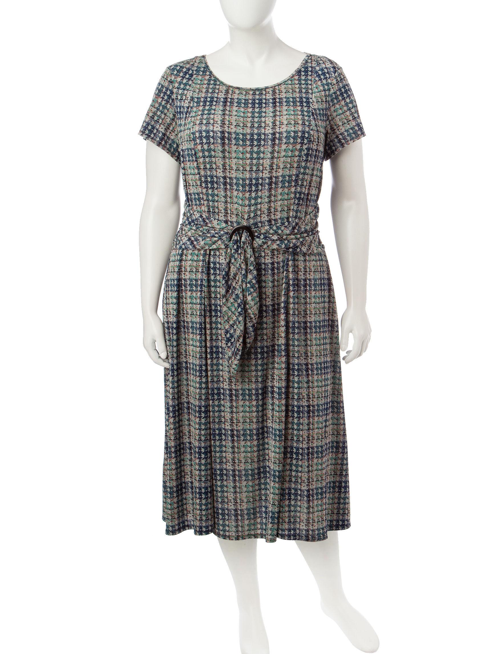 Perceptions Blue Everyday & Casual A-line Dresses