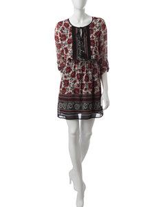 Signature Studio Ivory Fit & Flare Dresses