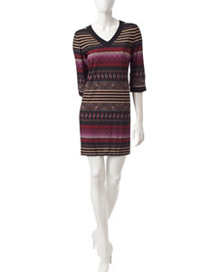 Sandra Darren Red Everyday & Casual Shift Dresses