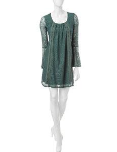 My Michelle Sage Crochet Dress