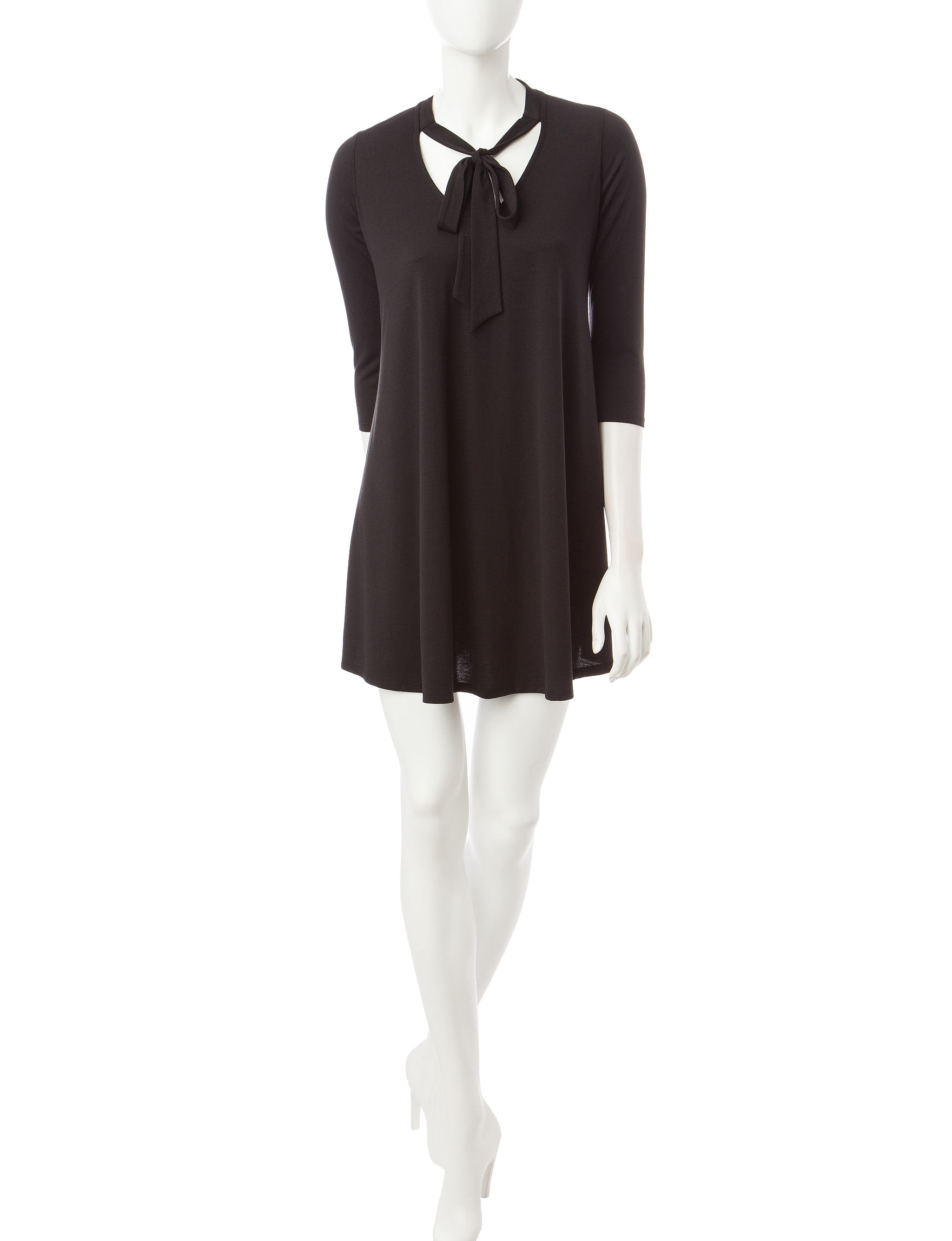 Heart Soul Black Everyday & Casual Shift Dresses