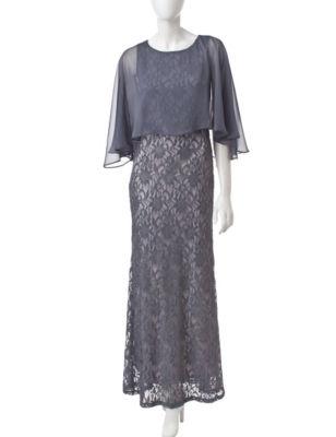 cheetah b long dresses by sangria