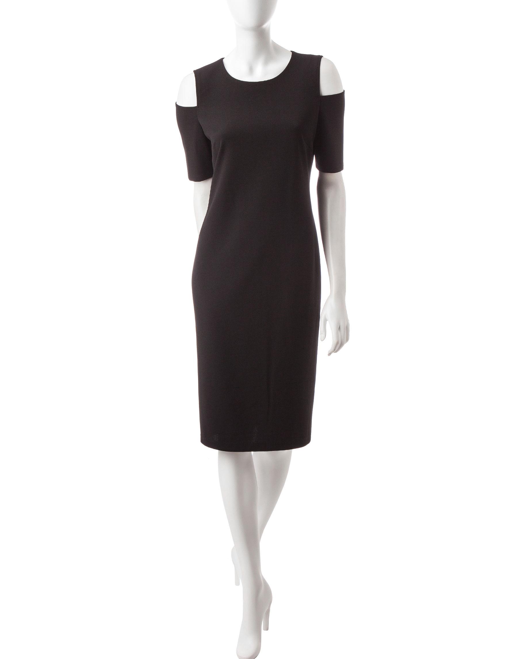 Ronni Nicole Black Everyday & Casual Sheath Dresses