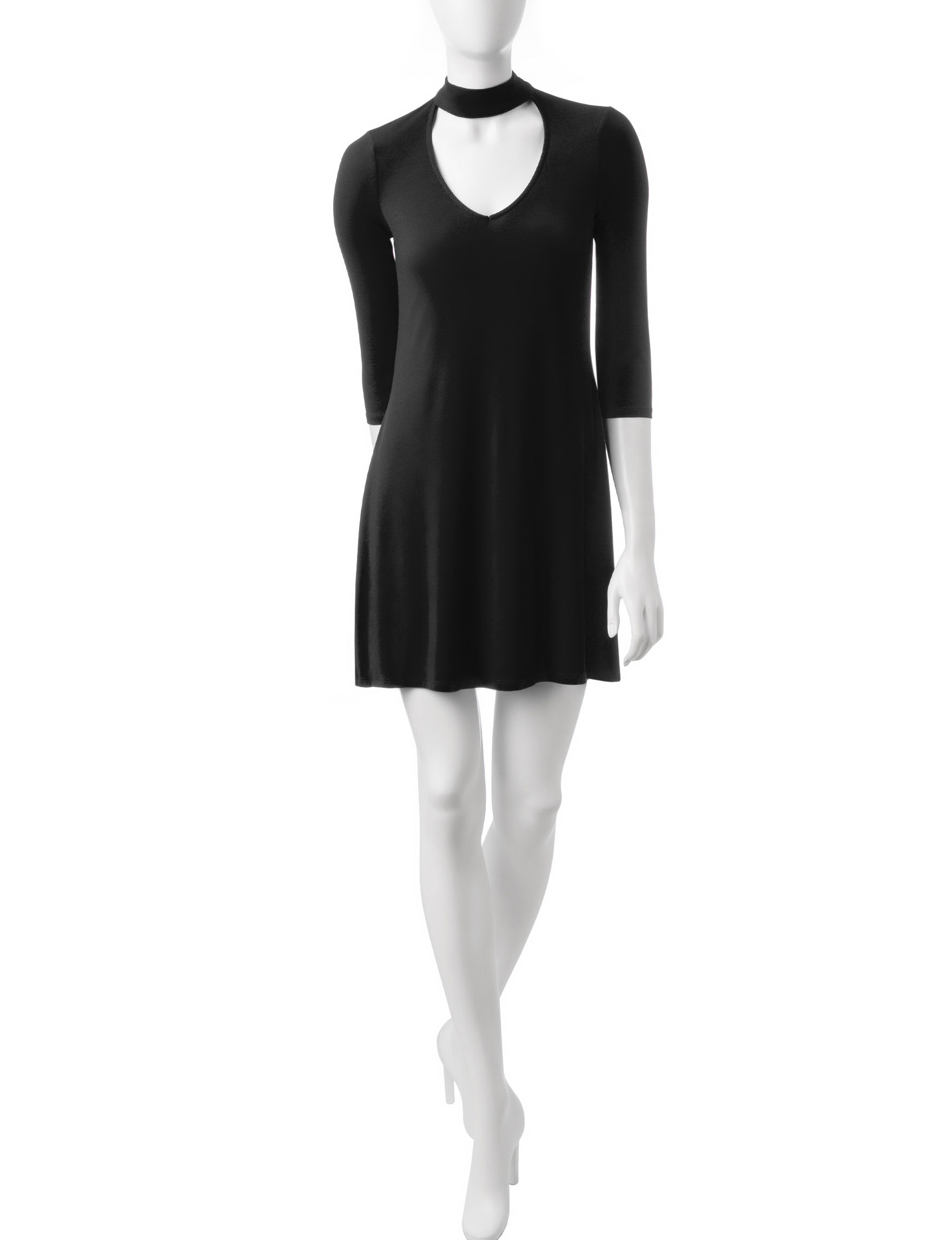 Signature Studio Black Everyday & Casual Shift Dresses