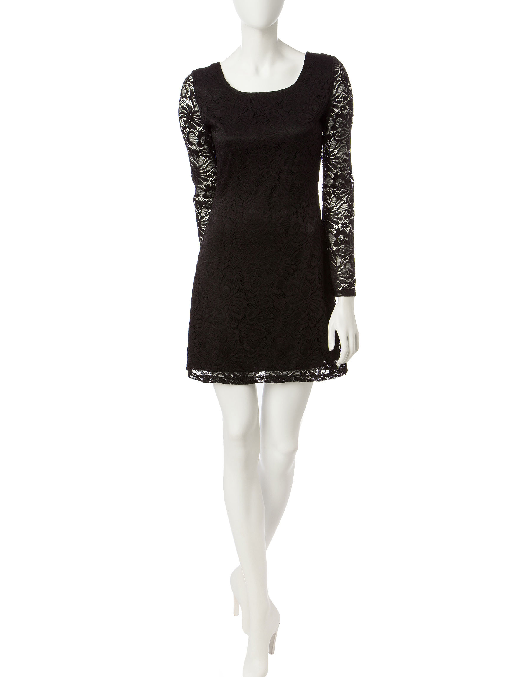 Liberty love black cocktail amp party fit amp flare dresses