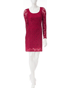 Liberty Love Red Lace Dress