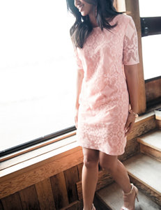 Madison Leigh Blush Everyday & Casual A-line Dresses
