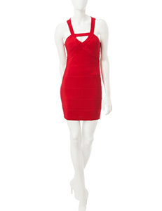 Emerald Sundae Red Cocktail & Party Sheath Dresses