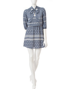 Heart Soul Navy Everyday & Casual Shift Dresses