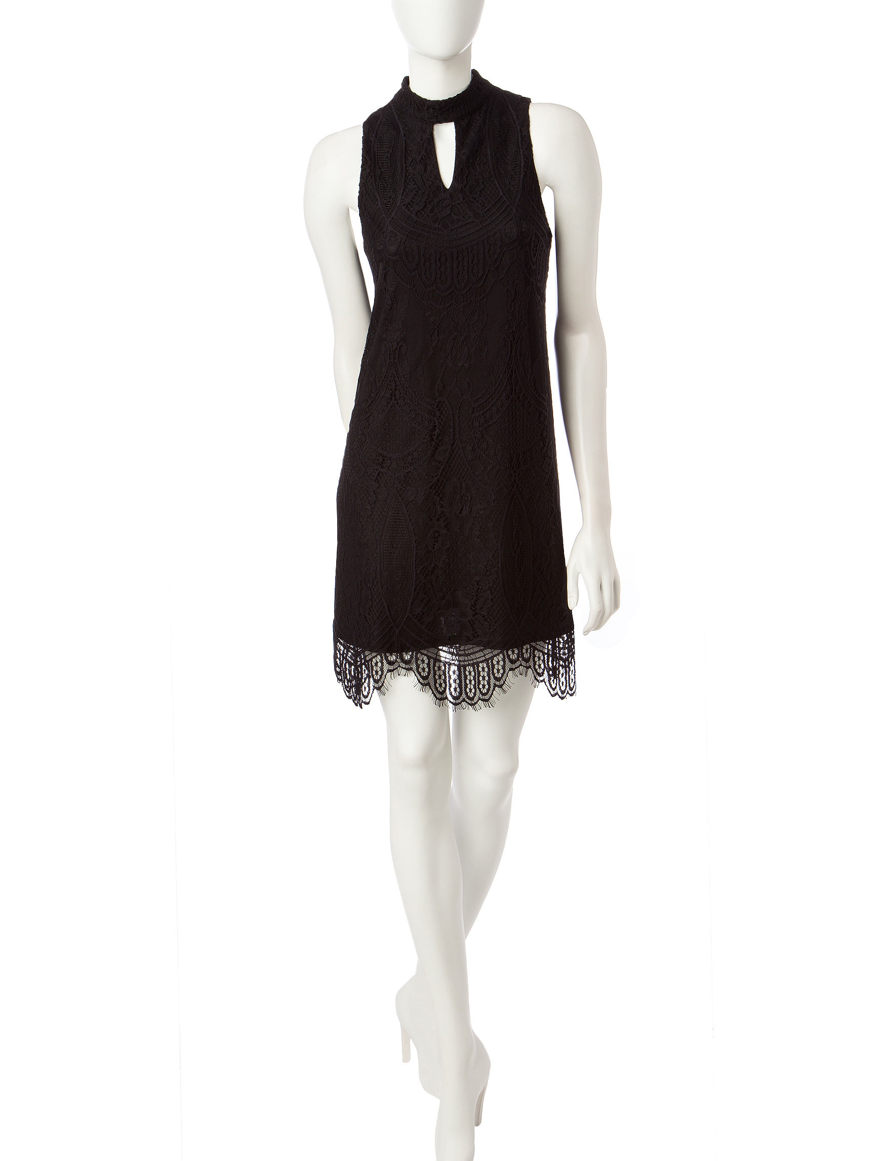 Fire Black Everyday & Casual Shift Dresses