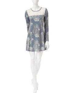 Trixxi Floral Print Dress