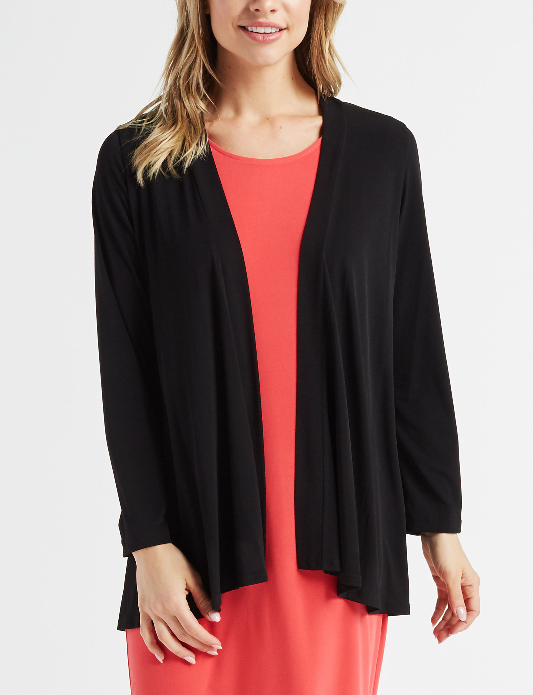 Lennie Black Cardigans Sweaters