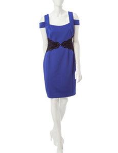 Sangria Blue Everyday & Casual Sheath Dresses