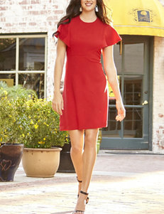Sharagano Red Everyday & Casual A-line Dresses