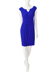 Connected Ruched Sheath Dress