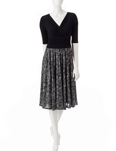 Sangria Grey Evening & Formal Everyday & Casual A-line Dresses