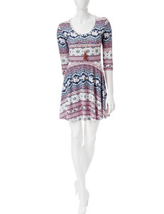 Justify White Everyday & Casual Shift Dresses