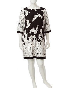 Sandra Darren Plus-size Tunic Dress