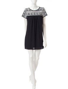 Trixxi Black /  White Everyday & Casual Shift Dresses