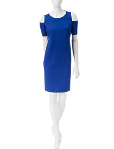A. Byer Blue Everyday & Casual Sheath Dresses