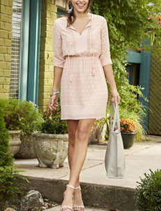 Signature Studio Blush Everyday & Casual Shirt Dresses