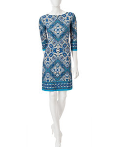 London Times Ity Tunic Dress