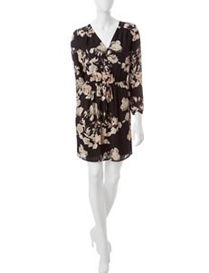 Signature Studio Floral Print Shirt Dress