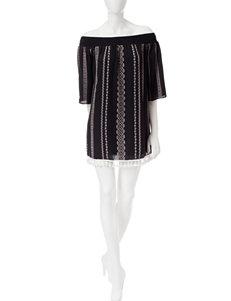 Trixxi Grey Everyday & Casual Shirt Dresses
