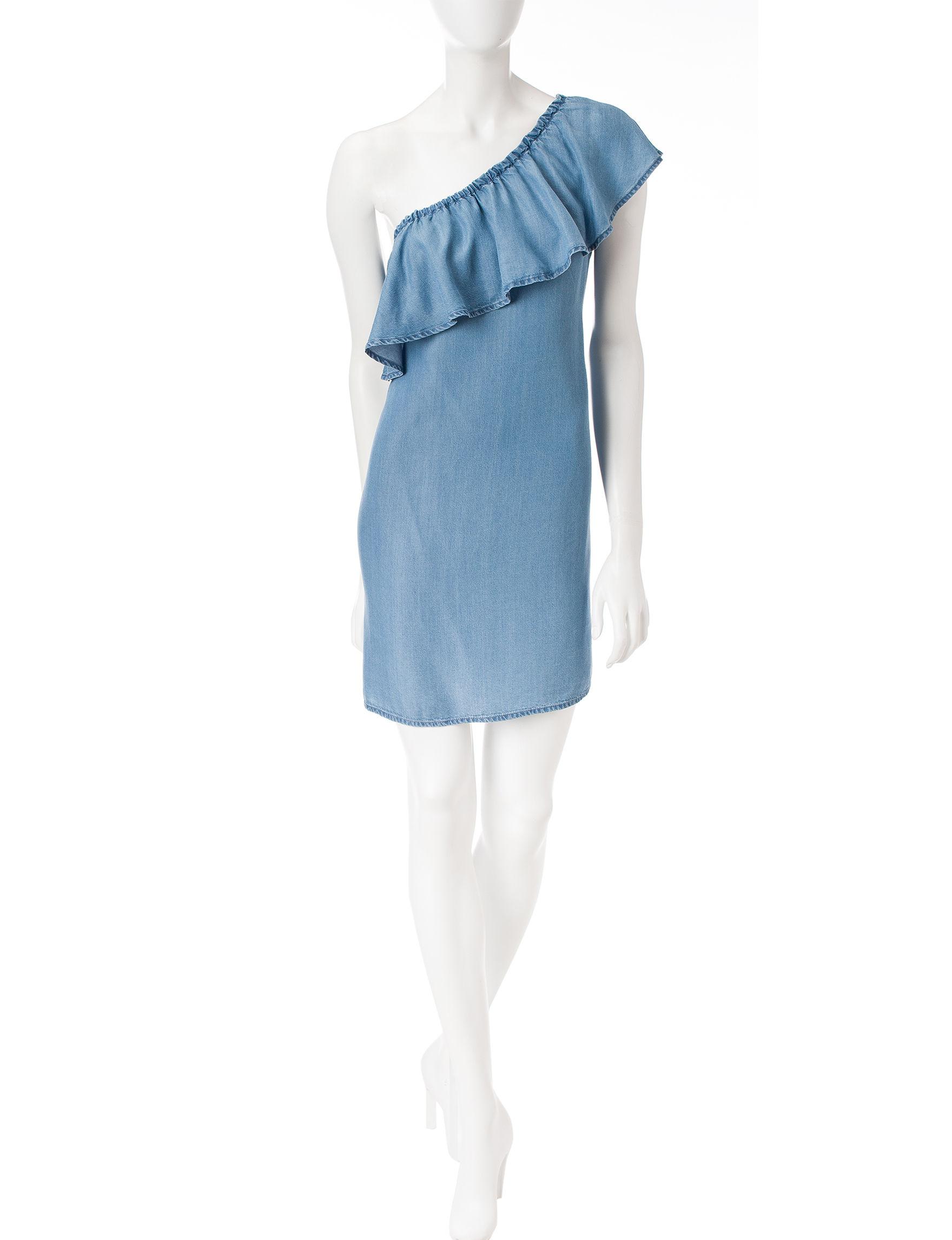 Signature Studio Blue Everyday & Casual Shirt Dresses