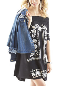 Signature Studio Embroidered Tunic Dress