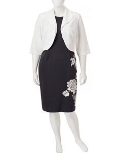 Dana Kay White Everyday & Casual Jacket Dresses