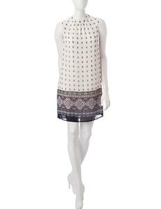 Signature Studio Ivory Everyday & Casual Shift Dresses