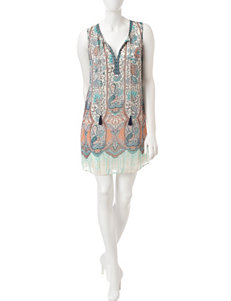 Signature Studio Vintage Paisley Dress