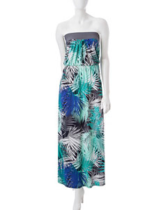 Trixxi Blue Everyday & Casual Strapless Sundresses